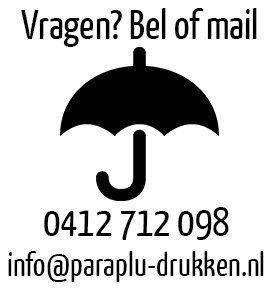 paraplu bedrukken, paraplu goedkoop, paraplu met logo