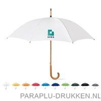 Snel paraplu houten stok bedrukken goedkoop