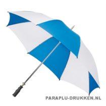 Luxe paraplu bedrukken GP-5 blauw wit